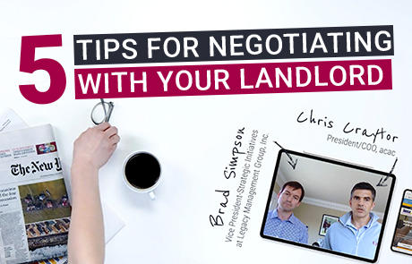 5 Tips for negotiating with your landlord Listing Image Video Article
