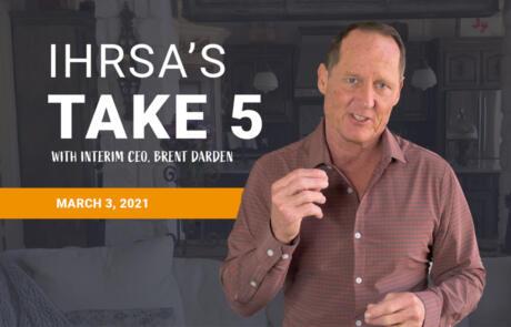 Take 5 March 3 ihrsa org