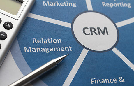 Technology Crm Graphic