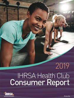 2019 IHRSA health club consumer report cover