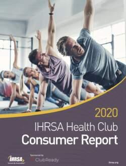 2020 IHRSA Consumer Report cover