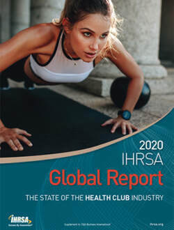 2020 IHRSA Global Report cover