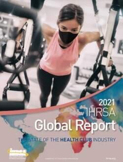 2021 IHRSA Global Report cover