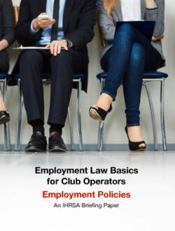 Employment Briefing Paper Policies Cover