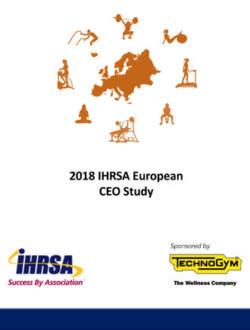 Ihrsa European Ceo Study Report