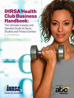 Ihrsa Health Club Business Handbook Cover