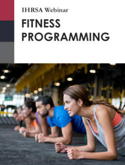 Webinar Fitness Programming Nosponsor