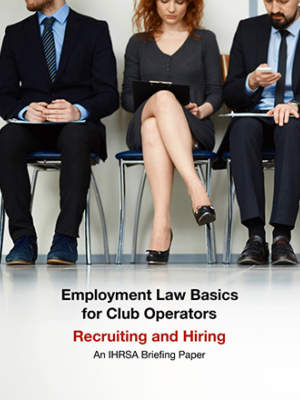 Employment Briefing Paper Recruiting And Hiring Briefing Paper Cover