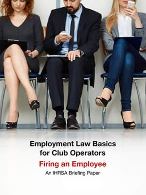 Employment Briefing Paper Firing An Employee Cover