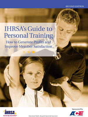 Ihrsa Personal Training Guide Cover