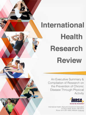 International Health Research Review Cover