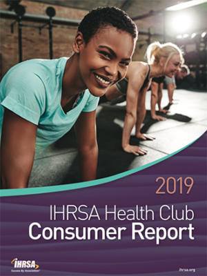 2019 IHRSA health club consumer report cover