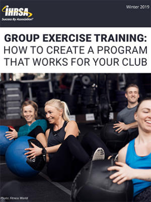 E Book Group Exercise Training Cover