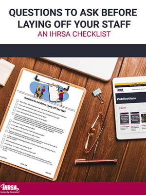 E book Staff Layoff Checklist Cover