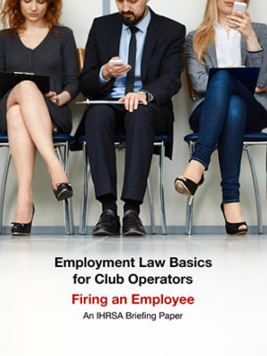 Employment Briefing Paper Firing An Employee Cover