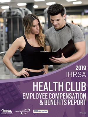 Ihrsa 2019 Health Club Employee Compensation Report Cover