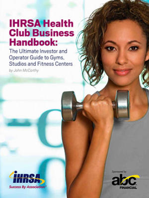 Ihrsa Health Club Business Handbook Cover
