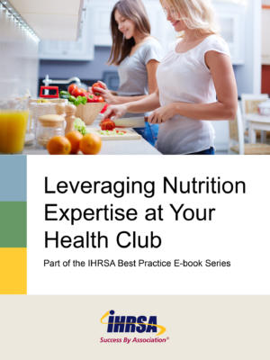 Working With Nutrition Experts Ebook Cover