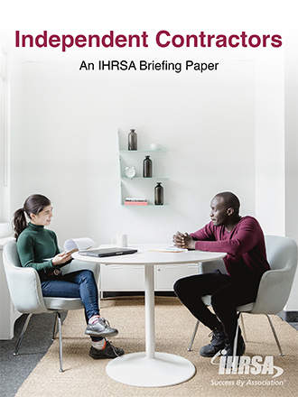 Briefing Paper Independent Contractors Cover