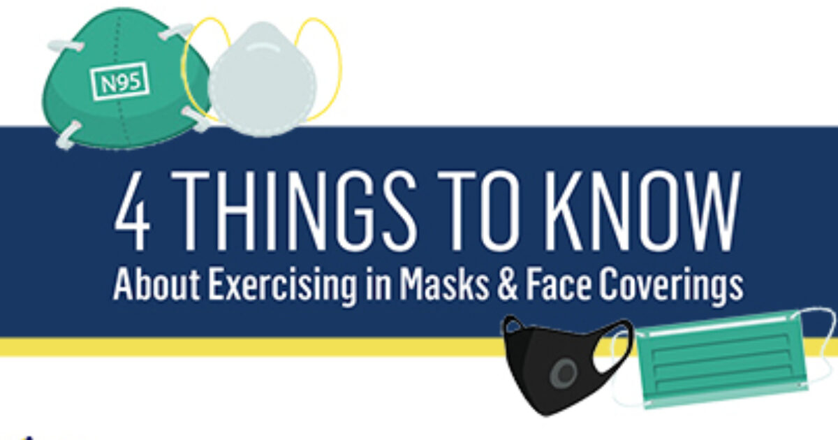 4 Things to Know About Exercising in Masks [PRINTABLE TEMPLATE] publication cover