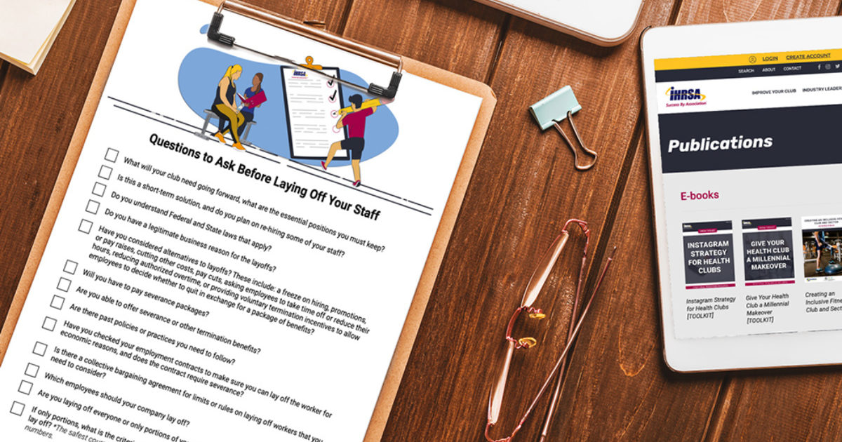 Questions to Ask Before Laying Off Your Staff [CHECKLIST] publication cover